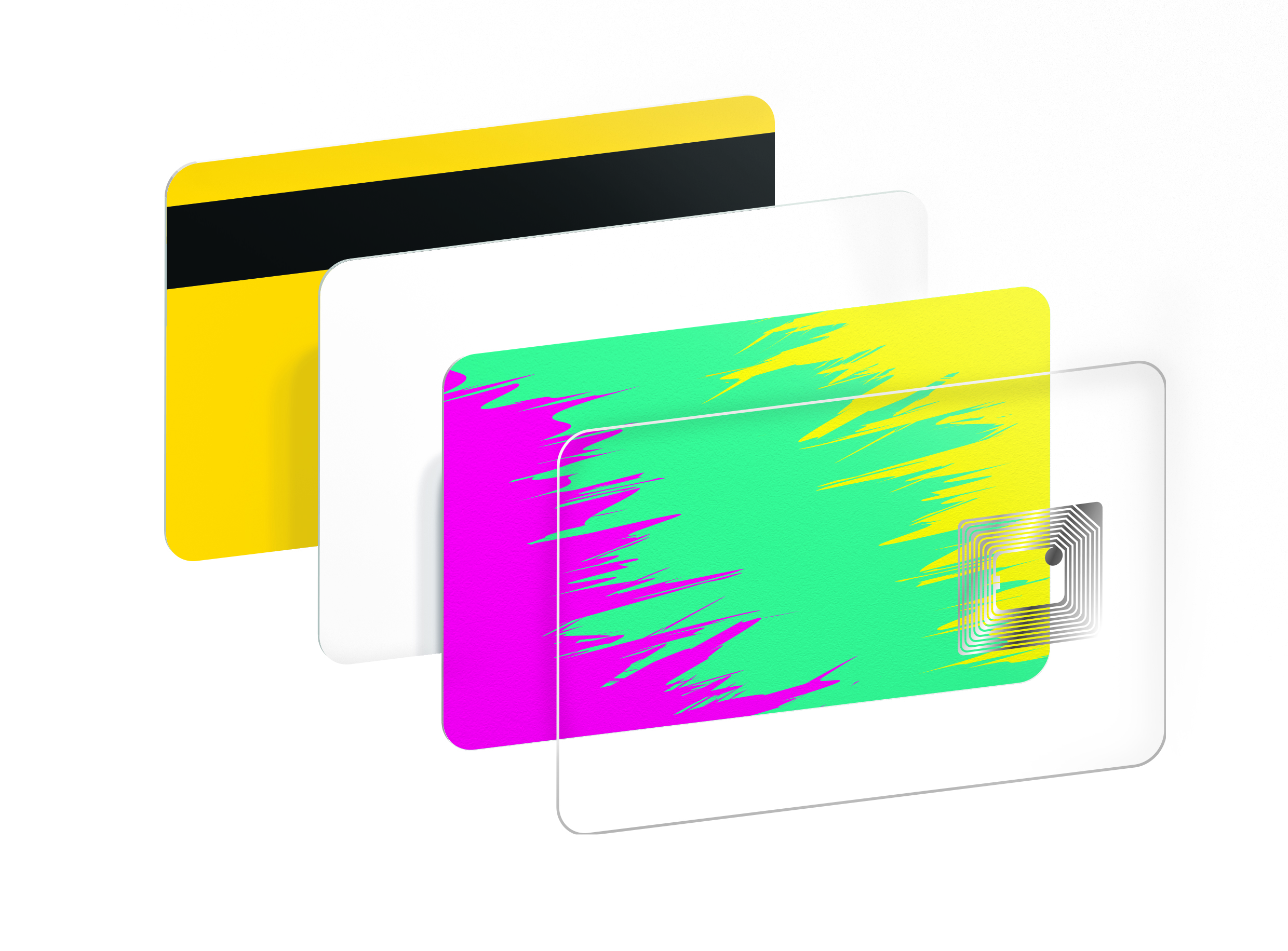 NFC chip card layer by Made by Oomph